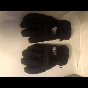 Kids sz large North Face gloves